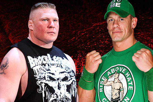 WWE News Update: What Stipulation Will Be Added to Brock Lesnar-John Cena Match