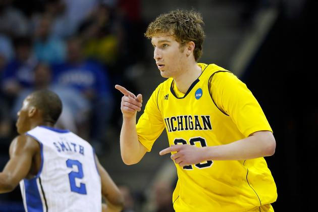 Maryland Basketball: Michigan's Evan Smotrycz Will Transfer to Maryland