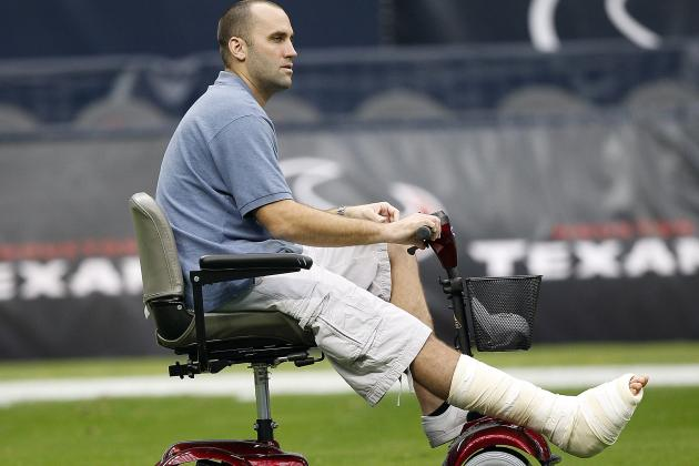 Houston Texans: Matt Schaub Still Healing, Vows to Be 100% by Training Camp