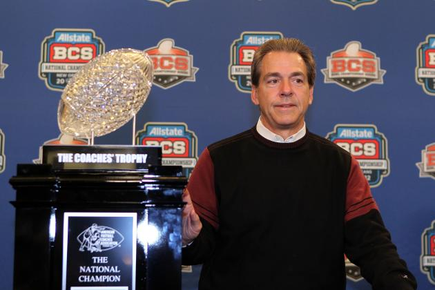 Alabama Football: $30,000 BCS Crystal Football Trophy Accidentally Destroyed