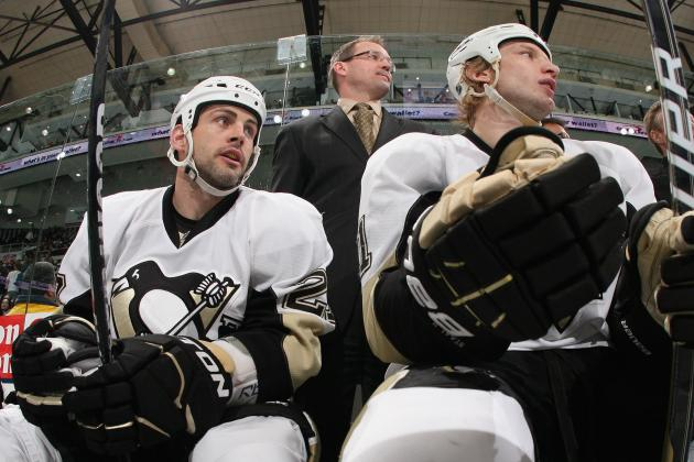 2012 Stanley Cup Playoffs: Pens' Craig Adams Suspended 1 Game; Dan Bylsma Fined