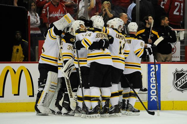 Stanley Cup Playoffs 2012: Boston Bruins Take Game 3, Series Lead over Capitals