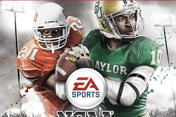 NCAA Football 13 Cover: Barry Sanders and Robert Griffin III Highlight Cover
