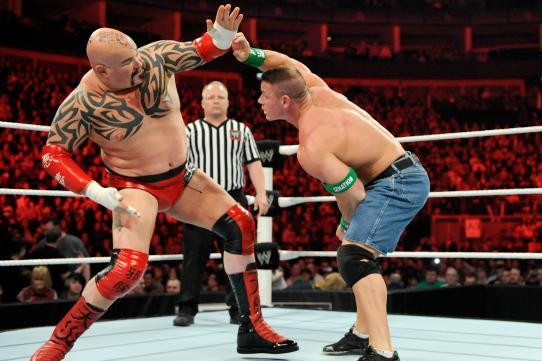 WWE Raw Deal April 16: Lord Tensai Defeats John Cena