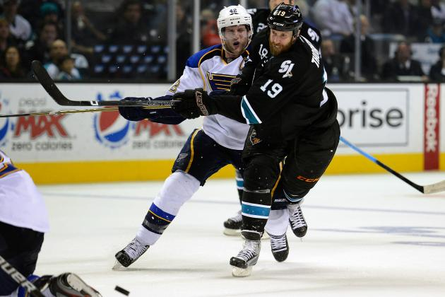 2012 Stanley Cup Playoffs: Key Takeaways from Sharks vs. Blues Game 3