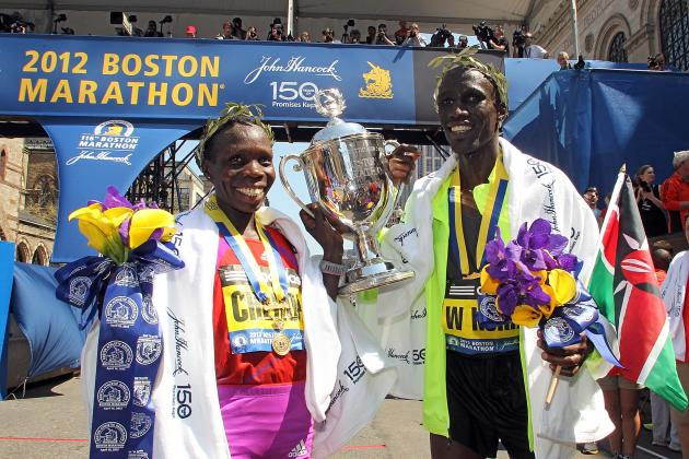 Boston Marathon 2012 Results: Top Finishing Times for Elite Runners