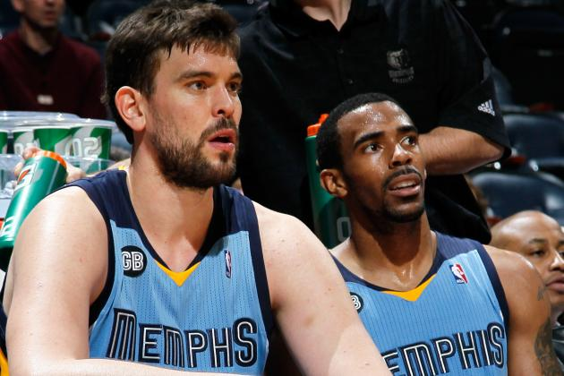 Marc Gasol Injury: Memphis Grizzlies Center Should Sit Until Playoffs