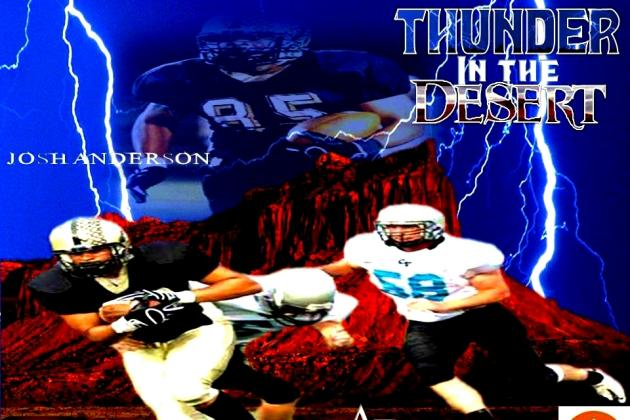 Thunder In The Desert: Utah TE/DE Josh Anderson
