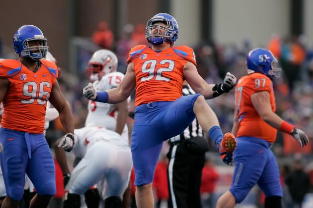 2012 NFL Draft Spotlight: Boise State OLB, Shea McClellin