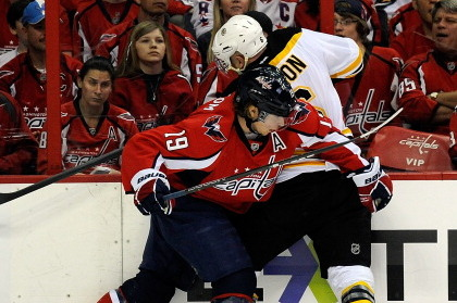 NHL Playoffs 2012: Capitals' Nicklas Backstrom Must Be Suspended for Cross-Check