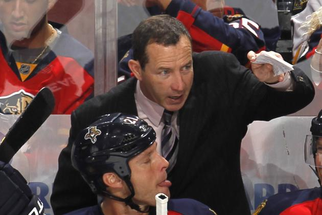 Panthers' coach complains about Devils' ice