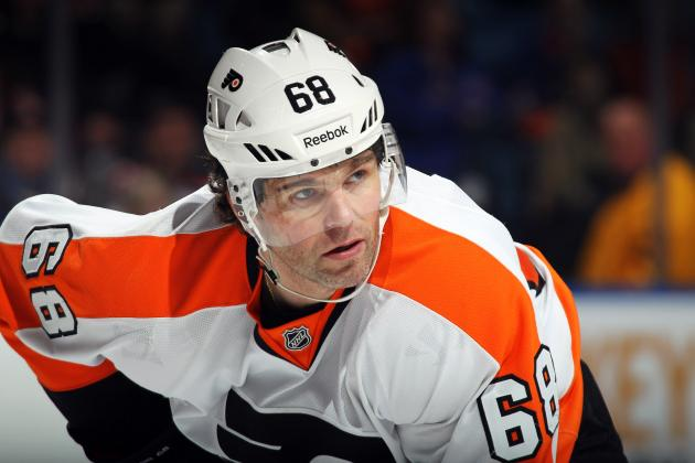 NHL Playoffs 2012: Jaromir Jagr