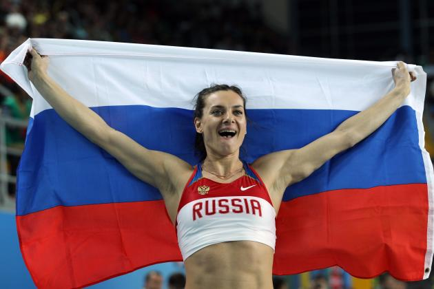 2012 Olympics Could Be Final Games for Pole Vault Great Yelena Isinbayeva