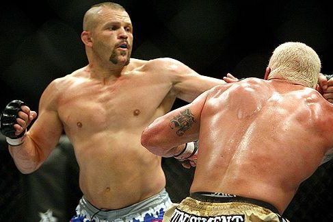 Chuck Liddell: Fighting a Teammate Is Nothing Personal