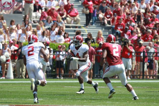 Alabama Spring Game: T.J. Yeldon Will Be Better Than T-Rich and Mark Ingram