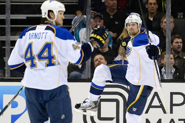 NHL Playoffs 2012: San Jose Sharks Must Fix Penalty Kill to Beat St. Louis Blues