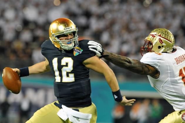 Notre Dame Football 2012: How Irish Would Fare with Andrew Hendrix as QB