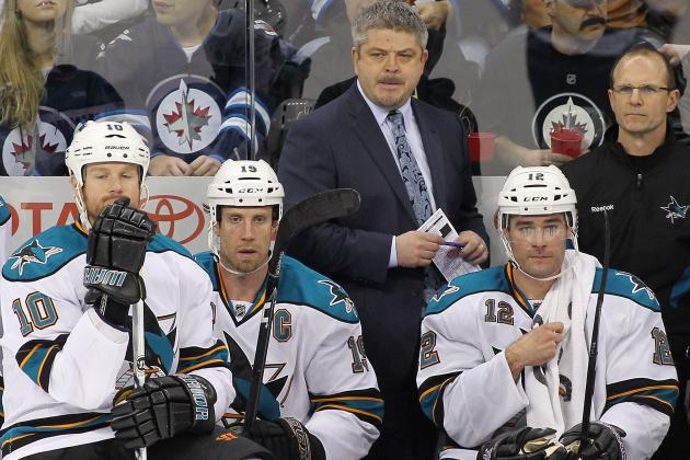 NHL Playoffs 2012: Changing Up Lines Is Only Answer for San Jose Sharks