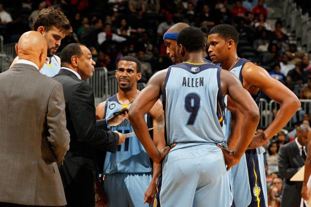 NBA Playoffs 2012: Previewing Memphis Grizzlies 1st Round Matchups