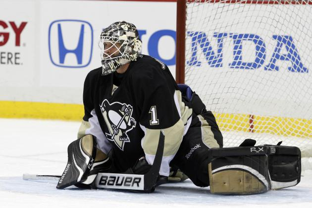 NHL Playoffs 2012: Pittsburgh Penguins Should Roll the Dice on Brent Johnson