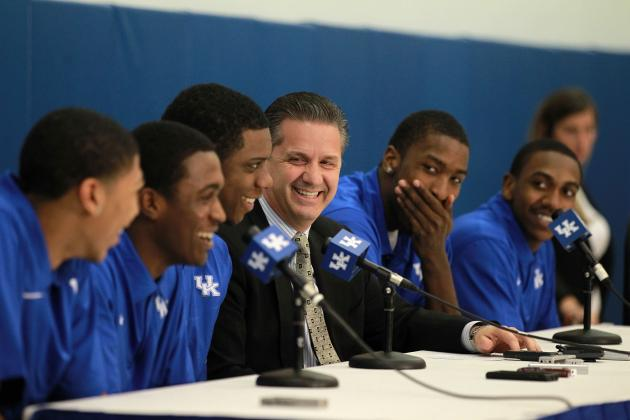 Kentucky Basketball: How Loss of Starting 5 Will Impact 2013 Championship Odds