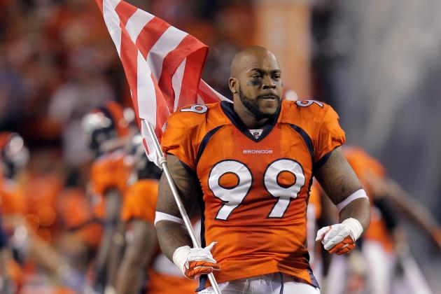 Kevin Vickerson: Denver Broncos Defensive Tackle Takes Pay Cut to Stay with Team