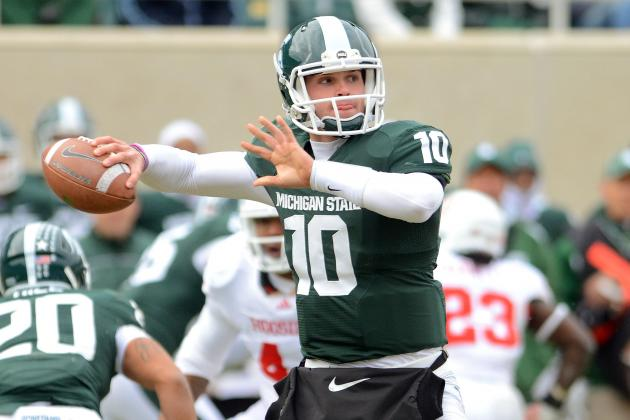 Michigan State: Andrew Maxwell Injures Knee, May Miss Remainder of Spring