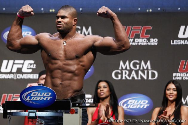Additional Possibilities for Alistair Overeem to Present to NSAC