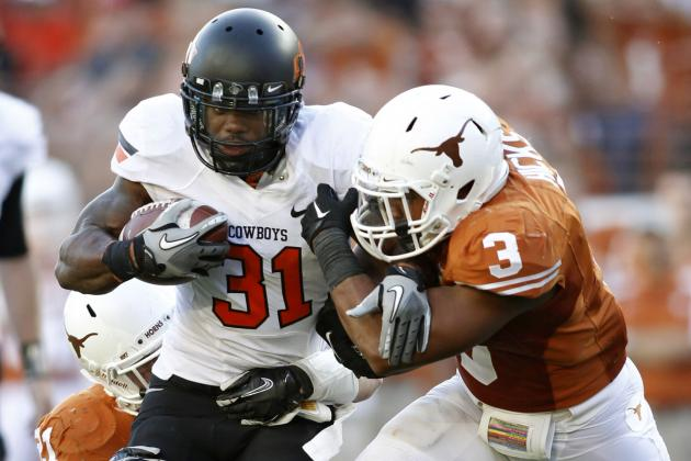 Oklahoma State RBs Developing Nicely with Less Reps