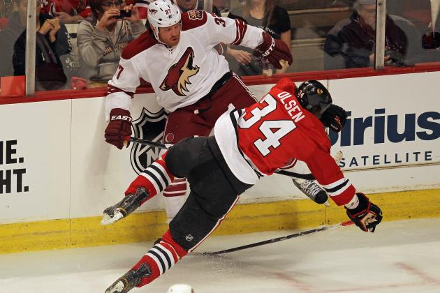 Raffi Torres: Coyotes Winger Suspended Indefinitely for Hit on Marian Hossa