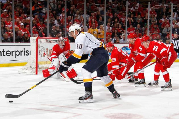 NHL Playoffs 2012: Detroit Red Wings' Game 4 Loss Kills All Hope of Series Win