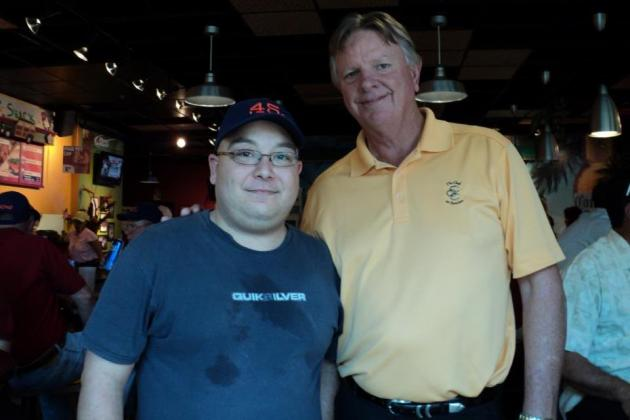 Larry Dierker: Houston Student Meets Idol at Astros' 50th Anniversary Game