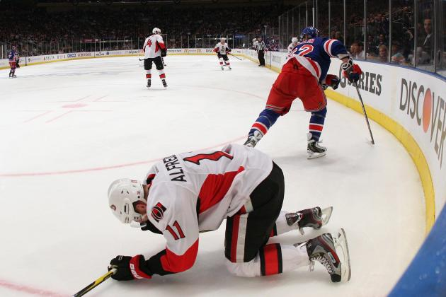 NHL Playoffs 2012: Daniel Alfredsson Needs to Sit out If He Has a Concussion