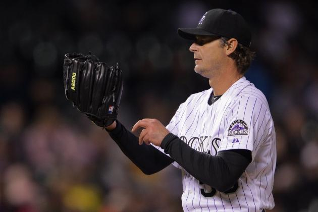 Jamie Moyer Will Give the Hall of Fame His Glove After He Breaks in a New One