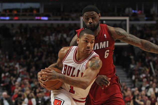 Bulls vs. Heat: LeBron James' Defense on Derrick Rose Swings Momentum to Miami