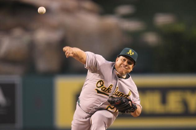 Game 13 Recap: Bartolo Colon Strikes Down Angels as Oakland A's Win 6-0