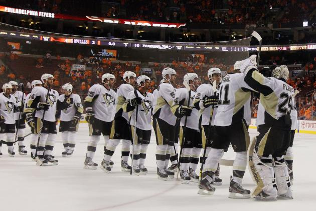 NHL Playoffs 2012:  Canucks, Penguins Avoid 'Sweeping' Embarrassment