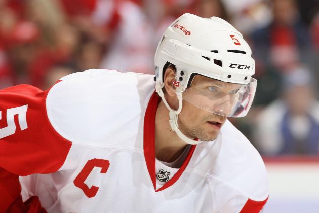 2012 Stanley Cup Playoffs: Nicklas Lidstrom Is Focused and Determined
