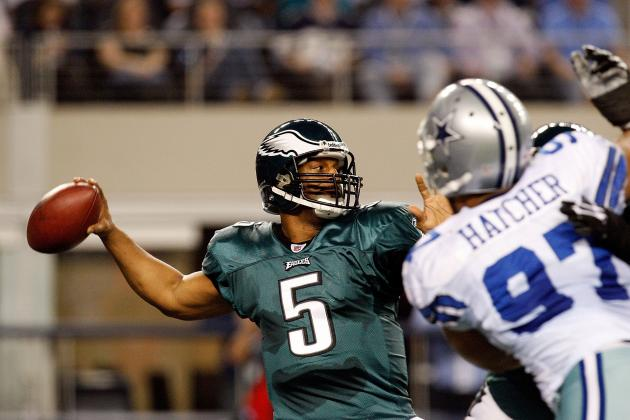 "Donovan McNabb Says He's a HOFer: ""My Numbers Are Better Than Troy Aikman"""
