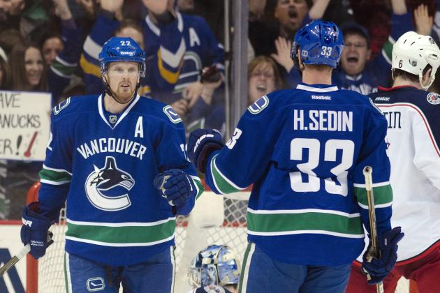 NHL Playoffs 2012: Grading Daniel Sedin's Return for the Vancouver Canucks