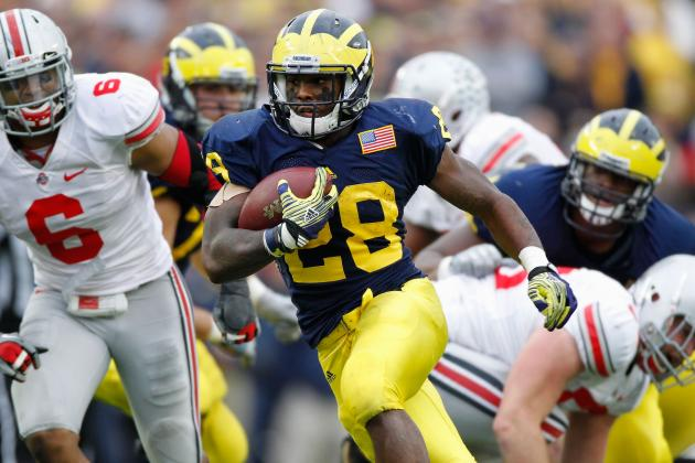 Michigan Football: Fitzgerald Toussaint Will Not Get to That 1,600-Yard Minimum