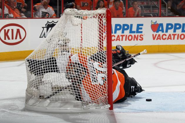 Flyers' Bryzgalov and Penguins' Fleury in Battle for Anti-Conn Smythe Award