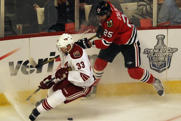 NHL Playoffs: Storylines in Game 4 of the Coyotes vs. Blackhawks Series