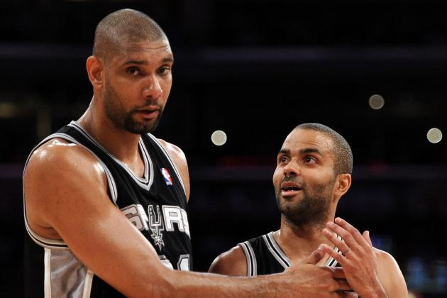 NBA Power Rankings: Can the Aging Spurs or Celtics Win Another Title?