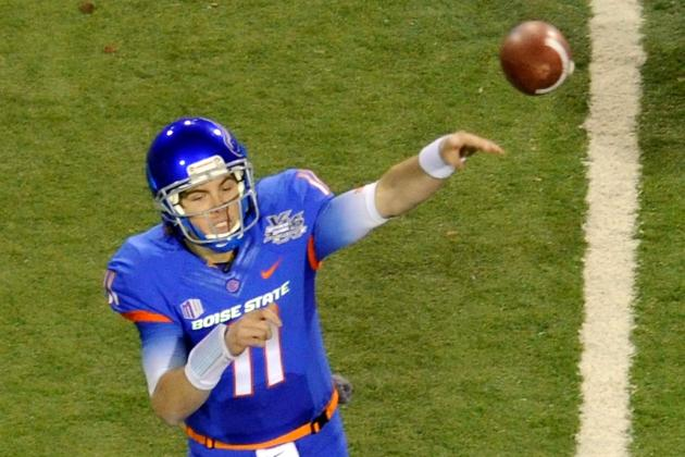 NFL Draft 2012: Kellen Moore and Other College Stars Who Will Go Undrafted