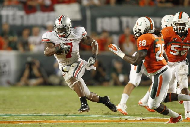 Ohio State Football 2012: The Top 5 Potential Playmakers for Urban Meyer