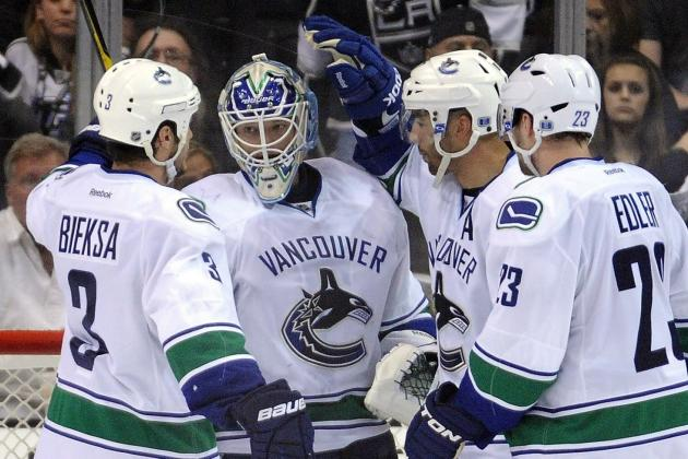 NHL Playoffs: Long Break Will Help the Vancouver Canucks