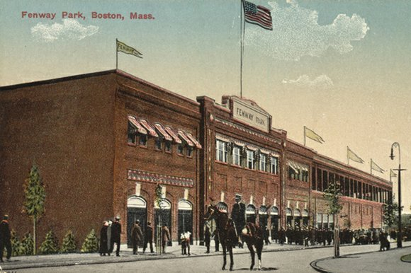 Fenway Park's First Day in 1912: Peanuts, the Titanic and the Boston Red Sox
