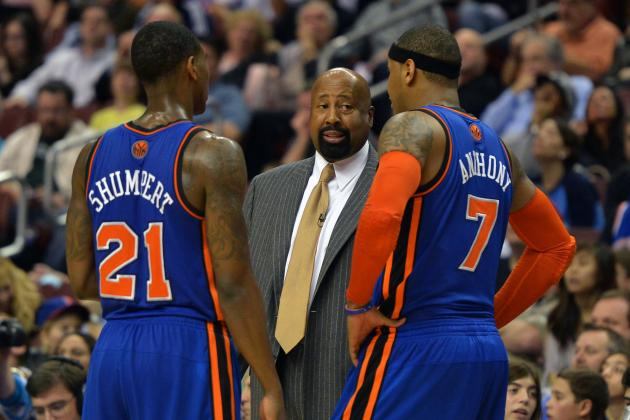 Mike Woodson, New York Knicks Clinch Playoffs: Don't Flinch Now