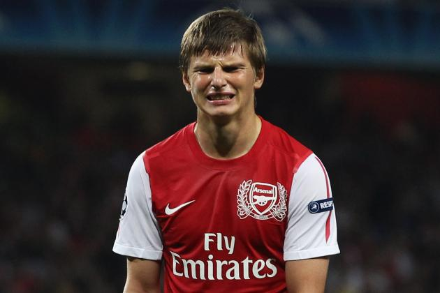 Andrei Arshavin: Arsene Wenger Lost Faith in Me at Arsenal